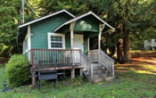Woodland Villa Cabin 16 in the Northern California Redwoods