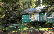 Woodland Villa Cabin 19 in the Northern California Redwoods